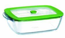 Pyrex 2.6 L Rectangle Borosilicate Glass Dish with Plastic Lid