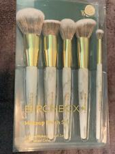 Cosmetic Makeup Brush 5 Piece Set by Birchbox with Travel Case