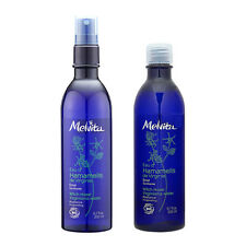 Melvita Organic Witch Hazel Toner Floral Water Spray 200ml + 200ml Refill #b131