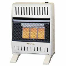 ProCom Dual Fuel Vent Free Gas  Heater, Ventless, 20K BTU With Base & Blower