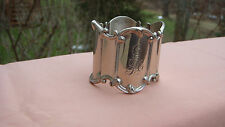 Magnificent Vintage Towle Sterling Silver Napkin Ring