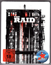 THE RAID BLU-RAY STEELBOOK NEU & OVP SEALED SOLD OUT AMAZON EXCLUSIVE