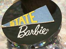 Barbie® & Ken 1961 Dream House &/or College Chipboard State Flag!
