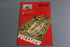 X446 VOLLMER Train catalogue maquetteHo N 1971 1972 28 pages 29,5*21 cm F
