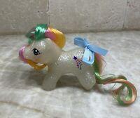 Hqg1c ~ Glitter Wishes ~ Glitter Island - Baby Sparkle G1 Custom Pony Newborn