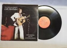 """Paul Simon in Concert """"Live Rhymin"""" LP Record - 1974 - Columbia Records EX/VG+"""