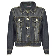 Clothing, Shoes & Accessories Boys` New H&M Piazza Italia Denim Jacket Ages 2-3-4-5-6-7-8-9-10-11-12-13-14