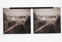 Ville A Identificare Casinò UK Francia ? Foto N3 Placca Stereo 6x13cm Vintage