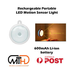 Rechargeable LED Battery Reading Motion Sensor Safety NIGHT Light Torch Camp