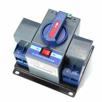 1PCS 63A 2P 50HZ/60HZ Dual Power Automatic Transfer Switch