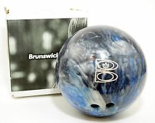 BRUNSWICK T ZONE Bowling Ball 15 Lb Pro Performance Ball - Patriot Blaze in Blue