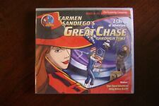 Carmen Sandiego Great Chase Through Time Discover World History   2 CDs