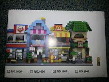 LEGO COMPATIBLE 11 INSTRUCTIONS (DIGITAL) MINI MODULAR BUILDINGS (L1-3) VARIOUS