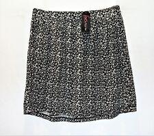 Free Fusion Brand Animal Print Elastic Waist Flip Skirt Size M BNWT #TN62