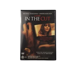 IN THE CUT 2003 DVD Meg Ryan Thriller Mark Ruffalo Movie R18+ Reg 4 Free Post