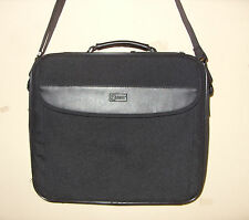 "Zippered Laptop Notebook Tablet Carrying Shoulder Bag 14.5"" X 12.5"" X 2.5"""