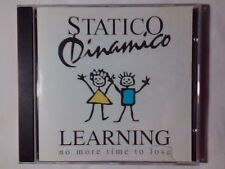 STATICO DINAMICO Learning no more time to lose cd RARISSIMO
