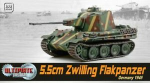 Dragon 60593 - 1/72 WWII Dt. 2 3/16in Twin Flakpanzer, Germany 1945 - New