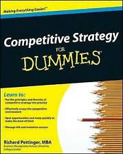Competitive Strategy For Dummies by Richard Pettinger (Paperback, 2009)