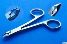 Cuticle Cutter Skin-Pliers With Scissors Handle Ca 3 7/8in Stainless Steel