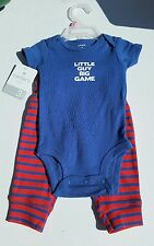 Carter's Boys 2pc 0-3 Months Outfit NWT