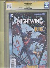 NIGHTWING  #22 CGC SIGNATURE VERIFIED 9.8 KYLE HIGGINS BATMAN & ROBIN DC COMIC
