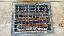 Antique Stamped Steel Floor Vent