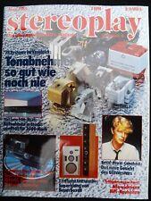 Stereoplay 6/83, Sony PCM 701es, CDP 701es, XL mc 3, Technics sb m1, s & r modelo 4
