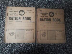 Ww2 Ration Books X2