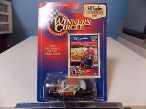 WINNERS CIRCLE JEFF GORDON DIECAST COLLECTOR RACE CAR