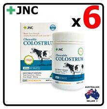 6 x JNC PANAX Australia Colostrum 820mg 200 Capsules Tablets
