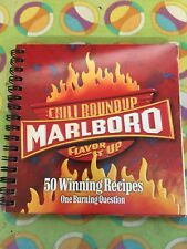 Marlboro Chili Roundup Flavor It Up 50 Winning Recipe Book COOKBOOK 2002