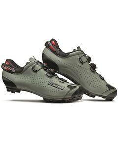 Sidi Tiger 2 Carbon Srs MTB Shoes, Black/ Sage