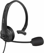 Cellet Premium 3.5mm HandsFree Headset with Boom Mic for Home Office Cell Phones