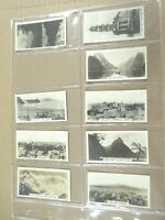 1928 Westminster NEW ZEALAND photos 1st series. set  36 card Tobacco Cigarette