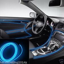 Car 12V EL Wire BLUE Cold light lamp Neon Lamp Atmosphere Lights Unique Decor 2m