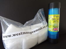 PVA MESH 38mm TUBE OFFER 60- 65M REFILLS Make PVA BAGS