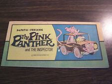 PINK PANTER #1 - MIRISCH-GEOFFREY . 1976 - MINI COMIC - N-MINT