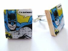 Batman Cufflinks Vintage Cartoon Movie BatmanCufflinks handmade unique gift