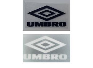 Retro Umbro diamond logo straight corners Press on clothing football shirt Euros