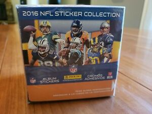 Panini 2016 NFL Sticker Collection, Box Of 50 Sealed Packs 7 stickers per pack