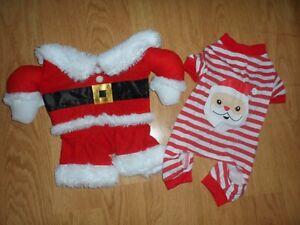 Small dog Christmas outfit bundle