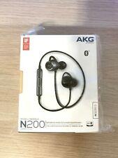 NEW AKG N200 WIRELESS Bluetooth In-Ear Headphones Black AKGN200BTBLK SHIPS NOW