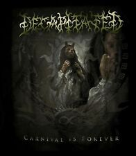 DECAPITATED cd cvr CARNIVAL IS FOREVER Official SHIRT MED New oop