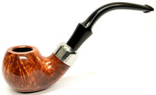 Peterson System Briar Pipe Smooth Finish Extra Large Apple Bent (302)