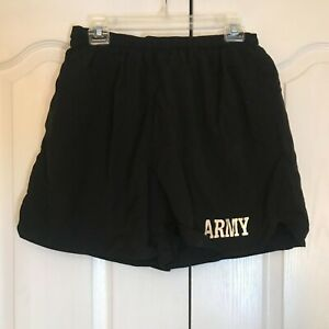 -** US Army PT Shorts Physical Fitness Training Black   *Various Sizes