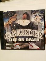 Life or Death [PA] by C-Murder (CD, Mar-1998, No Limit Records)