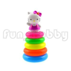 Funny Stacking Rings Toddler & Baby Toy With Hello Kitty