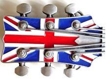 Union Jack Chitarra HEAD Fibbia della Cintura