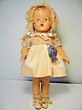 VINTAGE COMPOSITION RITZY CHUBBY BABY DOLL from NATURAL DOLL CO. - ALL ORIGINAL